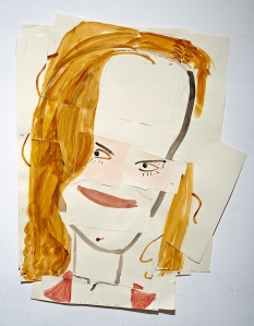 Collage par Rose Wylie