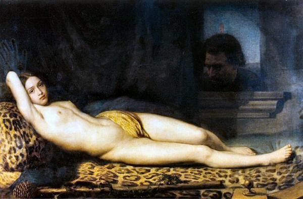 1845-Trutat-Felix-Repos-et-desirs-ou-la-bacchante